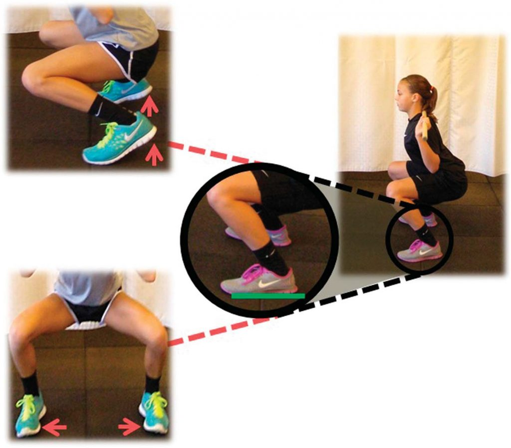 mobilidade de pés e tornozelos